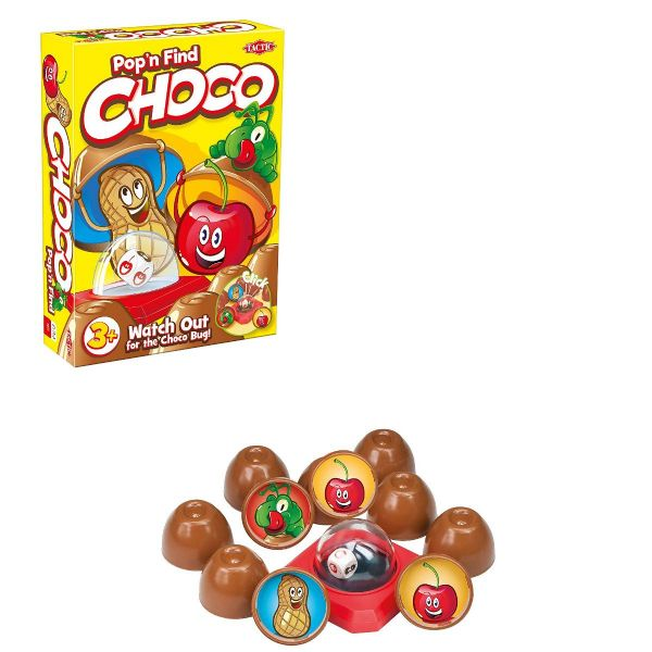 Pop N Find Choco Board Game - Family - Kids - Game By Tactic Games